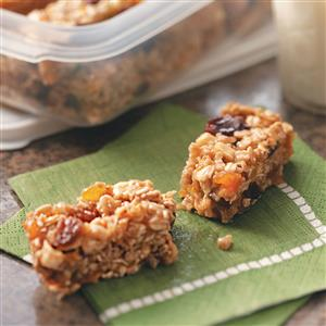On-The-Go Granola Bars Recipe