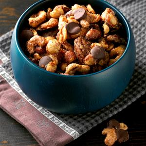 Orange-Ancho Spiced Nuts Recipe