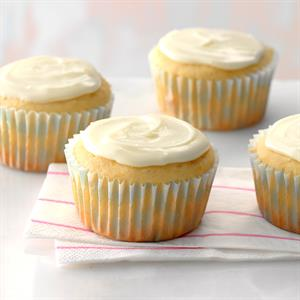 Orange Buttermilk Cupcakes Recipe