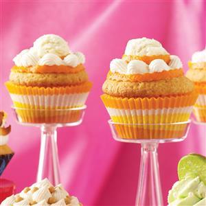Orange Cream-Filled Cupcakes Recipe