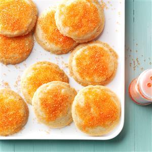 Orange Crispies Recipe