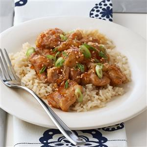 Orange Ginger Chicken Recipe