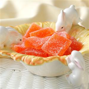 Orange Jelly Candies Recipe
