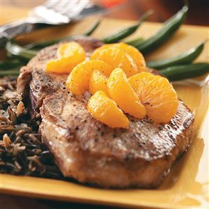 Orange-Topped Chops Recipe