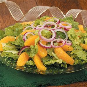 Orange and Red Onion Salad Recipe