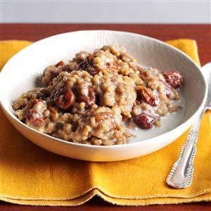 Overnight Cherry-Almond Oatmeal Recipe