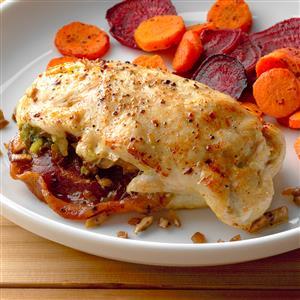 Pancetta and Mushroom-Stuffed Chicken Breast Recipe