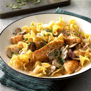 Paprika Chicken Stroganoff Recipe