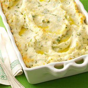 Parmesan-Baked Mashed Potatoes Recipe