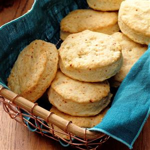 Parmesan Sweet Cream Biscuits Recipe
