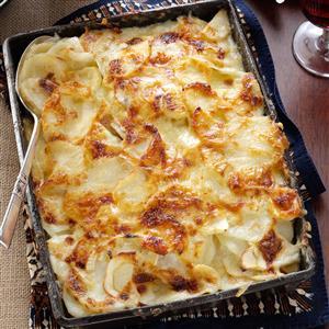 Parsnip Potato Gratin Recipe