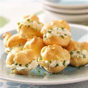 Party Crab Puffs Recipe
