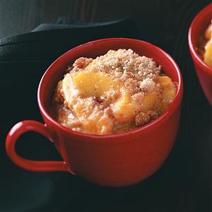 Peach Almond Crisp Recipe