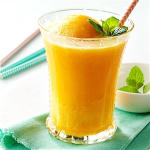 Peach Breakfast Slush Recipe