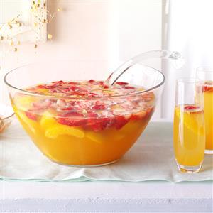 Peach Champagne Recipe
