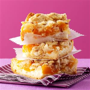 Peaches 'n' Cream Bars Recipe