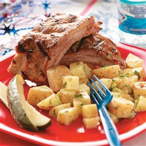 Peachy Pork Ribs Recipe