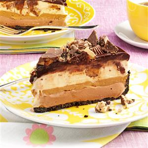 Peanut Butter-Chocolate Ice Cream Torte Recipe