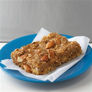 Peanut Butter Snack Bars