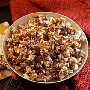 Peanut Caramel Corn Recipe