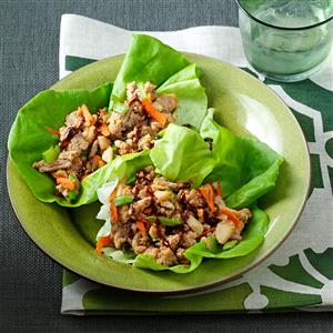 Peanutty Asian Lettuce Wraps
