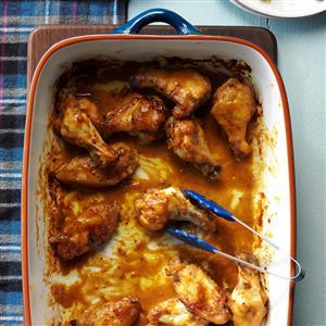Peanutty Chicken Wings Recipe