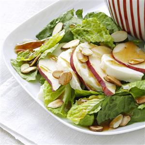 Pear Salad with Sesame Vinaigrette Recipe