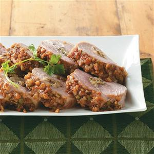 Pear-Stuffed Pork Loin Recipe