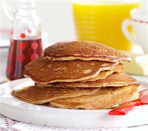 Pecan Apple Pancakes Recipe
