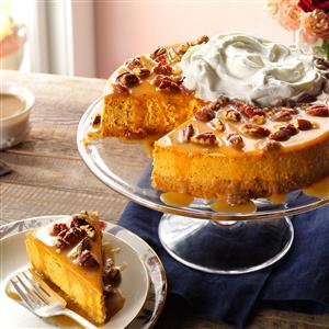 Pecan Pumpkin Cheesecake Recipe
