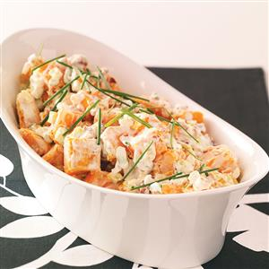 Pecan Sweet Potato Salad Recipe