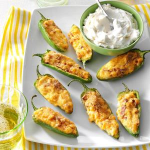 Air Fryer Pepper Poppers Recipe