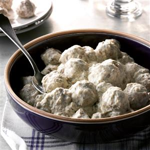 Peppered Meatballs Recipe