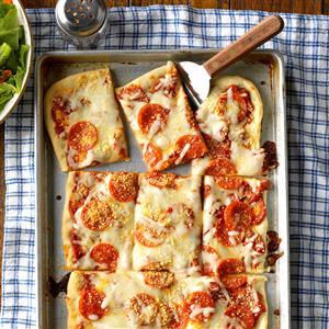 Pepperoni Pan Pizza Recipe