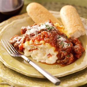 Pepperoni Pizza Lasagna Roll-Ups Recipe