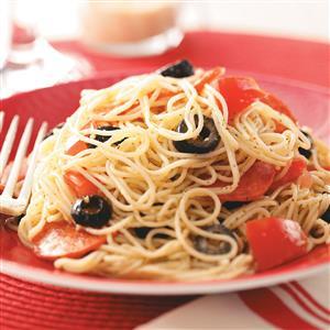 Peppy Parmesan Pasta Recipe