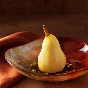 Persian Poached Pears Recipe