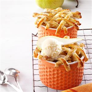 Personal Pear Pot Pies Recipe