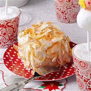 Petite Pineapple Coconut Cakes Recipe