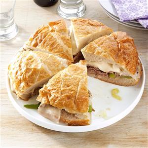 Philadelphia Beef Sandwich Recipe