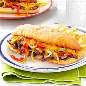 Philly Cheesesteaks Recipe