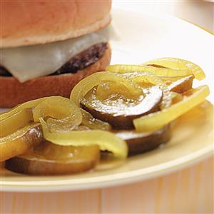 Pickled Zucchini Slices