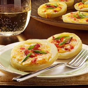 Pimiento Cheese-Stuffed Artichoke Bottoms Recipe