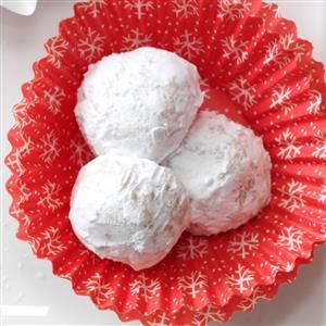 Pine Nut Snowballs Recipe