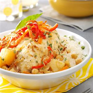 Pineapple Curry Chicken Recipe