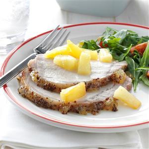 Pineapple-Glazed Pork Roast Recipe
