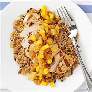 Pineapple-Mango Chicken Recipe