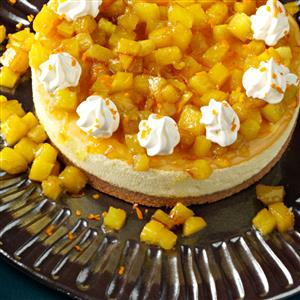 Pineapple Orange Cheesecake Recipe