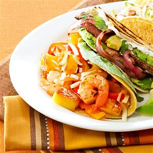 Pineapple Shrimp Tacos Recipe
