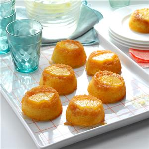Pineapple Upside-Down Muffin Cakes Recipe